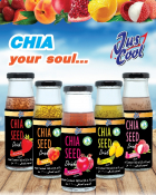 Jus Cool Chia Seed Drinks