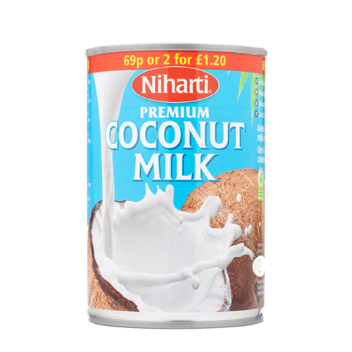 Niharti Coconut Milk Tins
