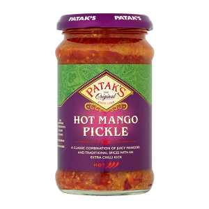 Pataks Pickle Mango Extra Hot