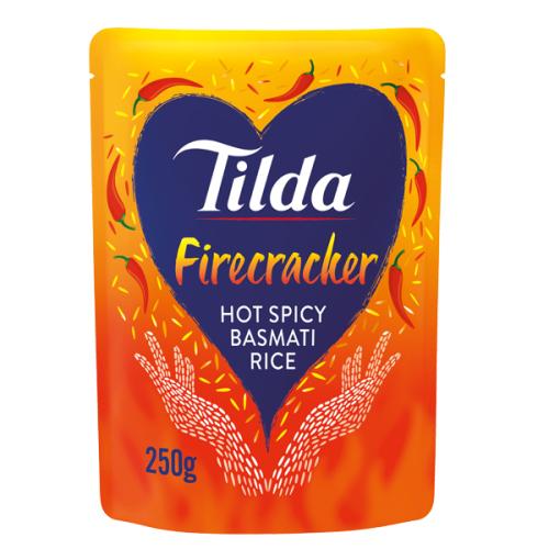 Tilda Microwave Hot Firecracker Basmati