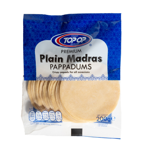 Top-Op Madras Papad 3 Inch
