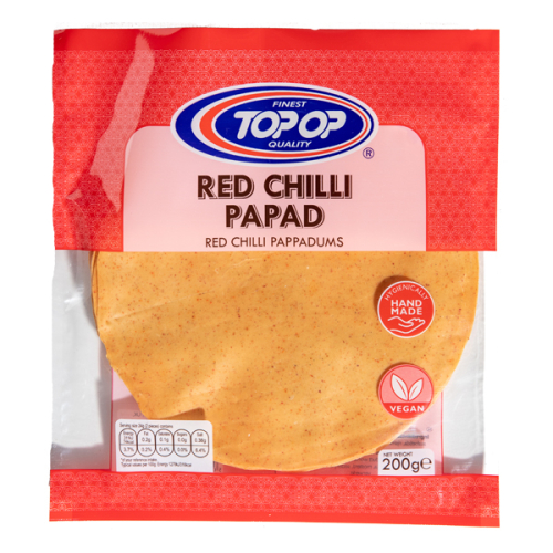 Top-Op Papad Red Chilli