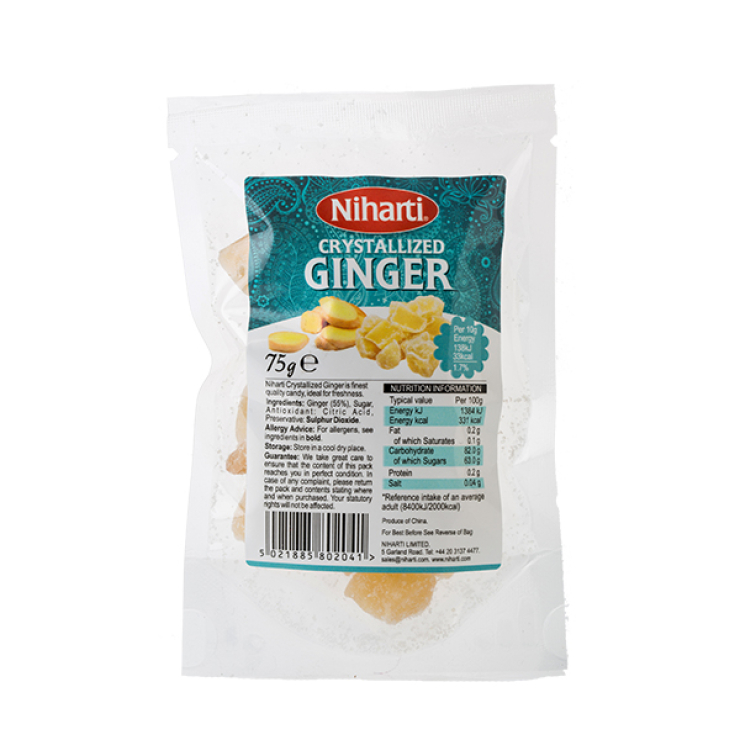 Niharti Crystallized Ginger : Top Op Foods