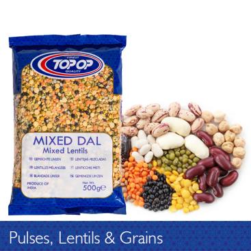 Pulses, Lentils, Grains