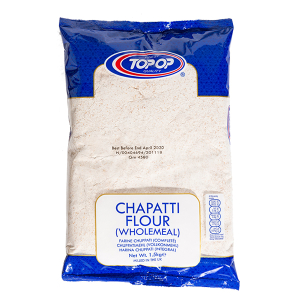 how to make chapati with brown flour