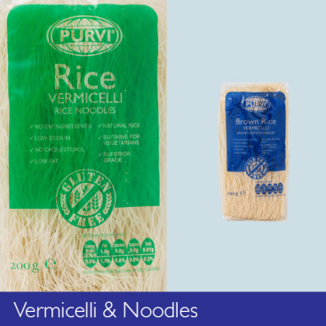 Vermicelli and Noodles