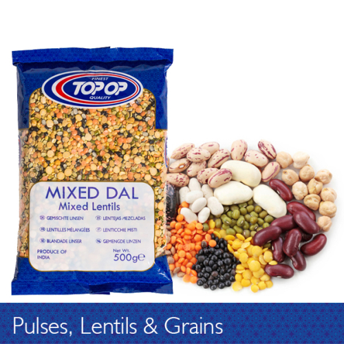 Pulses Lentil and Grains