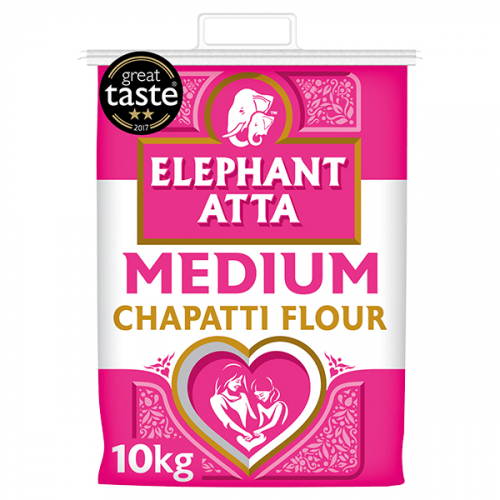 Elephant Chapati Flour Medium
