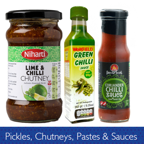 Pickle Chutneys Pastes & Sauces