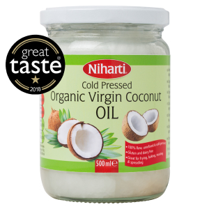 Niharti Organic Virgin Coconut Oil Jars