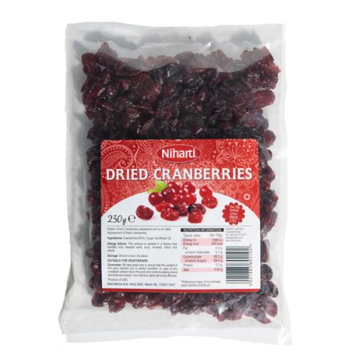 Niharti Dried Cranberries