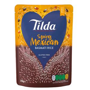 Tilda Microwave Spicy Mexican Basmati