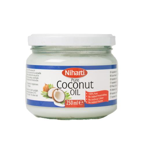 Niharti Coconut Oil Jars