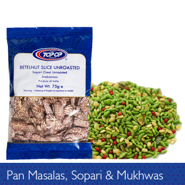 Pan Masalas, Sopari and Mukhwas
