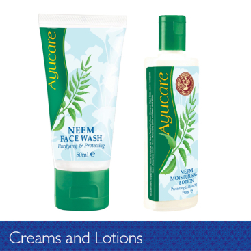 Creams and Lotions