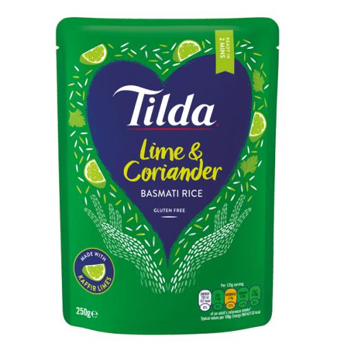 Tilda Microwave Lime and Coriander Basmati