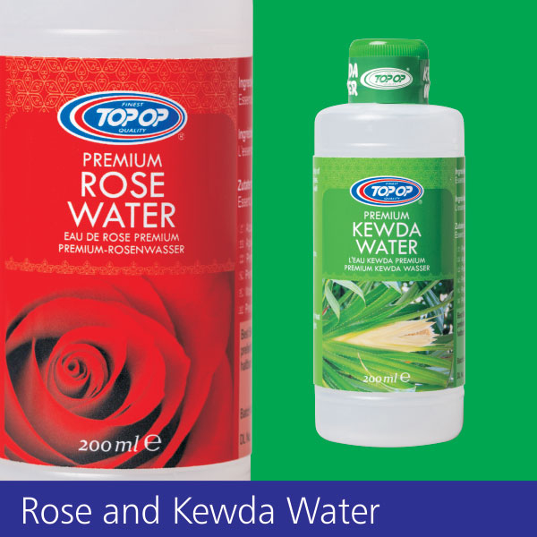 Top-Op Rose & Kewda Water