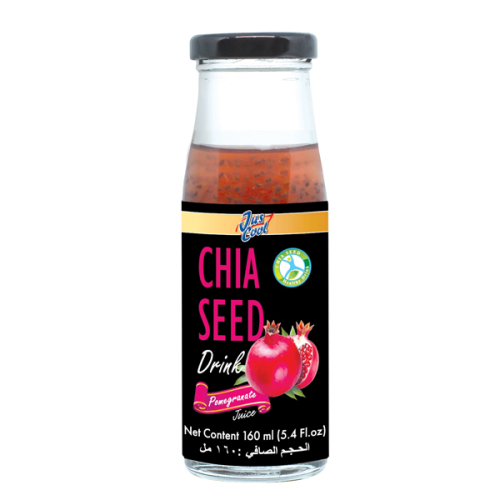 Jus Cool Chia Seed Drink Pomegrant