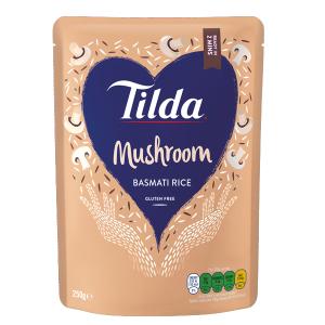 Tilda Microwave Mushroom Basmati